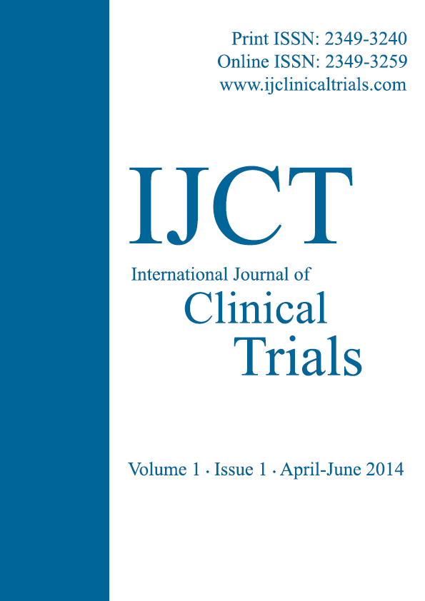 International Journal of Clinical Trials